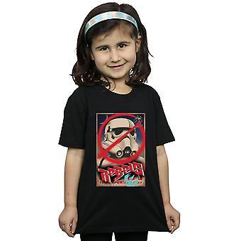 Star Wars Girls Rebels Poster T-Shirt
