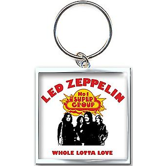 Brelok metalowy Whole Lotta Love LED Zeppelin