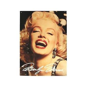 Marilyn grote glimlach Metal Sign