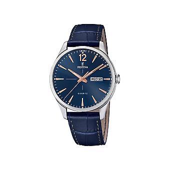 FESTINA - Armbanduhr - Herren - F20205-3 - Retro - Klassik
