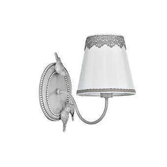 Maytoni Lighting Bouquet Elegant Sconce, Antique Grey