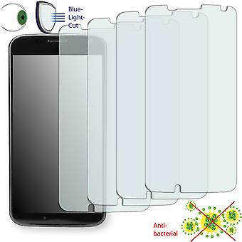 Motorola XT1060 screen protector - Disagu ClearScreen protector (deliberately smaller than the display, as this is arched)
