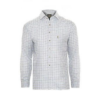 Mens Champion Tattersall Country Style Casual Check Long Sleeved Shirt 2320