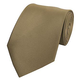 Empate corbata tie corbata de oro oscuro de 8cm cobre Fabio Farini