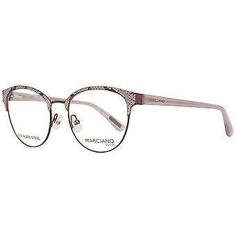 GUESS by MARCIANO women's Burgundy glasses