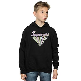 DC Comics Boys Supergirl Pastel Logo Hoodie