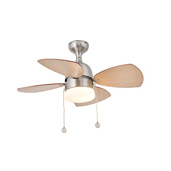 Ceiling fan Mediterraneo Nickel 81.5 cm / 32