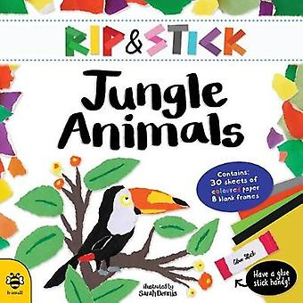 Rip and Stick Jungle Animals Activity Book by Sam Hutchinson - Sarah
