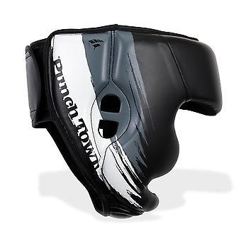 PunchTown Kranion KR Kopfschutz schwarz/weiß