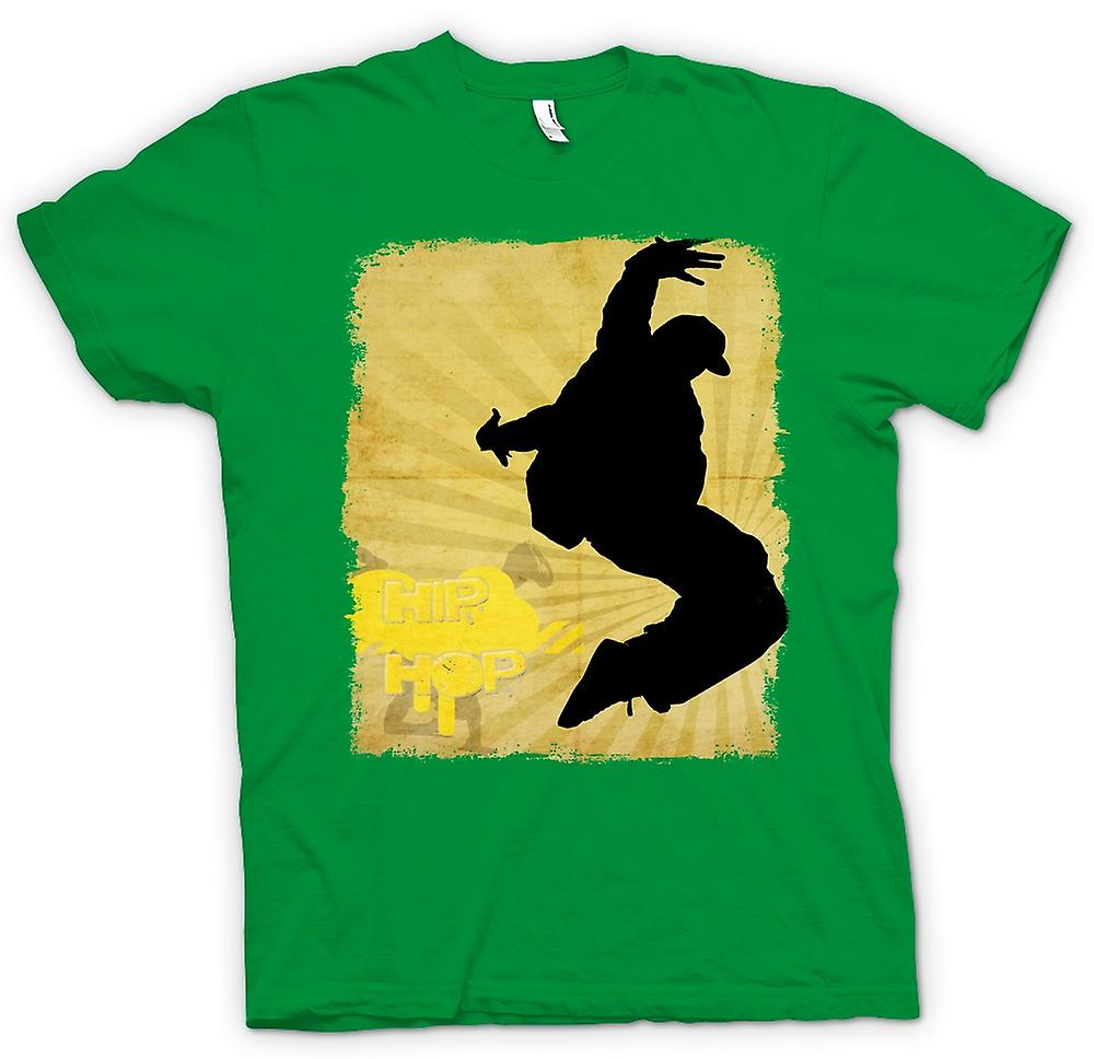 Mens T-shirt - Hip Hop - Break Dance