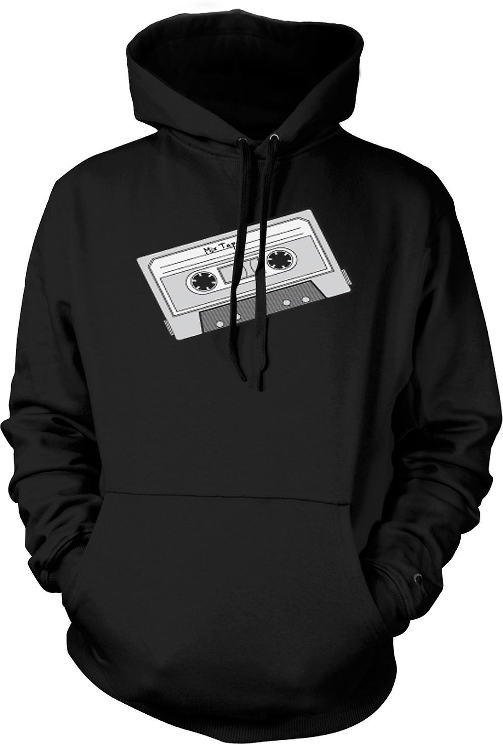 Mens Hoodie - Oldschool d'enregistreur à cassettes