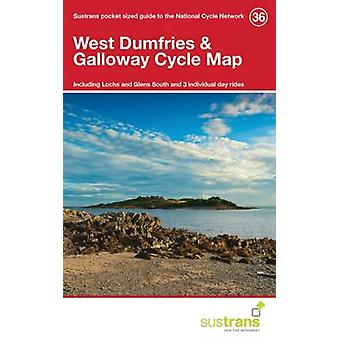 West Dumfries & Galloway Cycle Map 36 - Including Lochs and Glens Sout