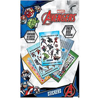 Avengers 800 Piece Sticker Set
