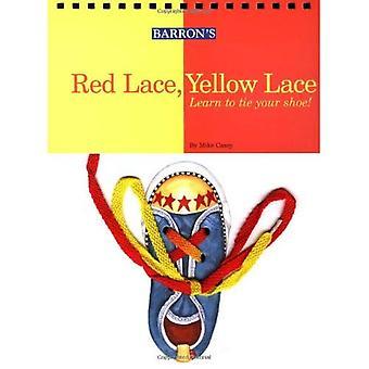 Röd spets, gula spetsar: Lär dig att knyta skon!