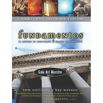 Fundamentos manual para el maestro volumen uno