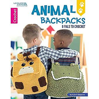 Animal Backpacks: 8 Pals to Crochet