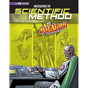 Investigando o método científico com o axioma de Max, Super cientista: 4D uma experiência de ciência leitura aumentada (gráfica ciência 4D)