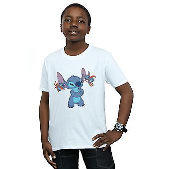 Disney jongens Lilo & Stitch beetje Devils T-Shirt