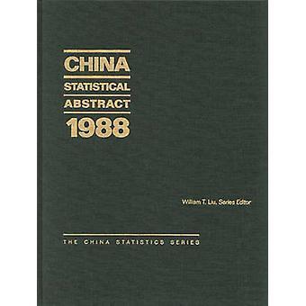 China statistische abstrakte 1988 von Liu & William T.