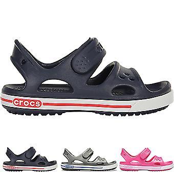 Unisex Kids Crocs Crocband II Sandal Lightweight Summer Holiday Shoes