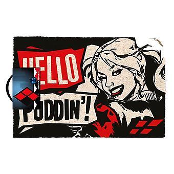 Harley Quinn Hello Puddin ' zerbino
