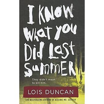I Know What You Did Last Summer by Lois Duncan - 9781606869215 Book