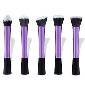 5 Purple Make-up/Makeup brushes of the best quality