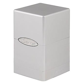 Ultra Pro Metallic Silber Satin Tower Deck Box