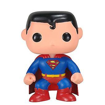 DC Comics Superman Pop! Vinyl Figur 07 Superman aus Kunststoff, von Funko, in Geschenkkarton.