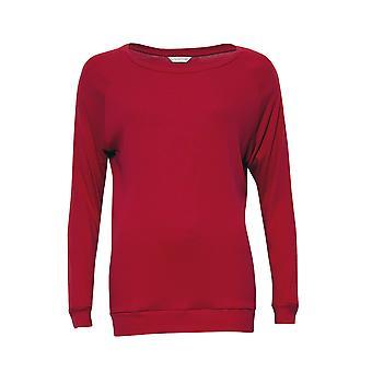 Cyberjammies 4261 Women's Belle Red Cotton Pyjama Top