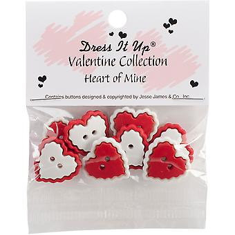 Dress It Up Holiday Embellishments-Heart Of Mine DIUHLDAY-8142
