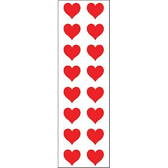 Mrs. Grossman's Stickers Red Hearts Small Mg199 01023