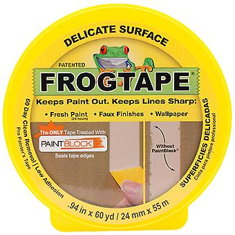 Yellow Frog Delicate Multisurface Masking Tape .94