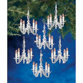 Holiday Beaded Ornament Kit Christmas Chandeliers Bok 5932