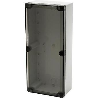 Wall-mount enclosure, Build-in casing 340 x 150 x 101 Polycarbonate (PC) Light grey (RAL 7035) Fibox EURONORD 3 PCQ3 15