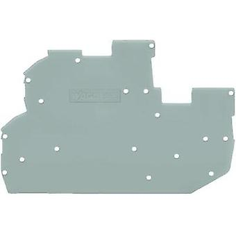 End and intermediate plate WAGO Content: 1 pc(s)