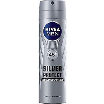 Nivea Deo Spray 200 Ml For Men Silver Protect Dynamic Power