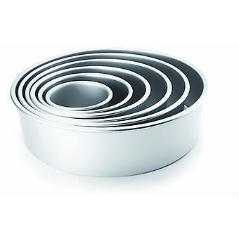 Ibili Round mold Recto Extra High 30x10 Cm (Heim , Küche , Backen , Formen)