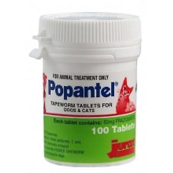 Popantel Tapeworm Tablets 10kg 100