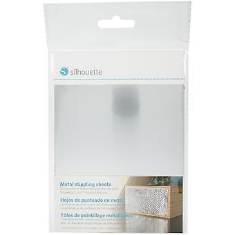 Silhouette Curio Metal Stippling Sheets 5