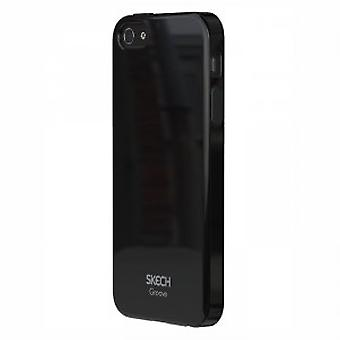 Skech Groove TPU cover case iPhone 5 / 5S Black