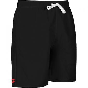 arena of fundamentals of sides vent Boxer shorts men's swimwear black 43628-54