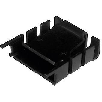 Heat sink 18 C/W (L x W x H) 25.4 x 25 x 8.5 mm TO 220 ASSMANN WSW V8510SN