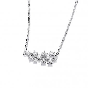 Cavendish French Silver and CZ Constellation Necklace