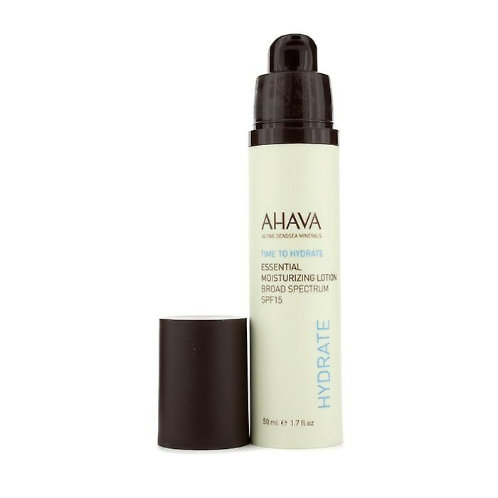AHAVA Time à Hyrdate essentiel hydratant Lotion SPF 15 50ml / 1. 7 oz