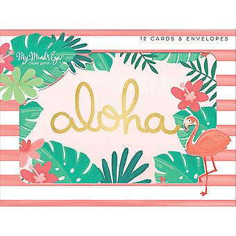 Palm Beach Cards W/Envelopes 4