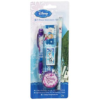 Officially Licensed   Disney Frozen Olaf 5 Piece Stationery Set   Back to School Kit