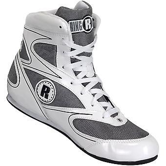 Ringside Lo-toppen Diablo boksning sko - hvid