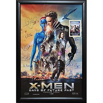 X-Men Days of Future Past - Signed Movie Poster