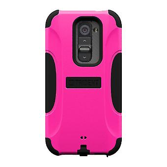 AFC Trident, Inc. Aegis tilfældet for LG Optimus G2 (Pink/sort)